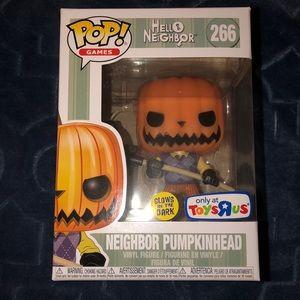 Neighbor Pumpkinhead pop